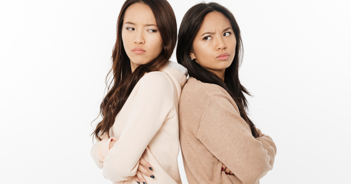 Angry asian ladies